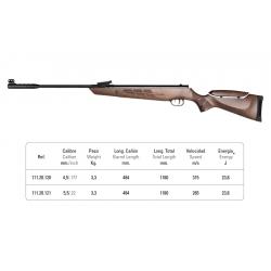 تفنگ بادی نوریکا مدل marvic 2.0 luxe