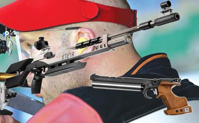 تفنگ و تپانچه بادی مسابقاتی